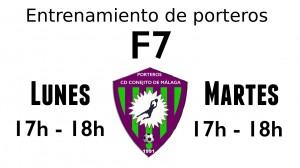 ENTRENAMIENTO PORTEROS F-7